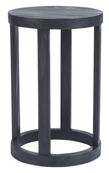 Progressive Furniture Brie Gray Chairside Table PRG-A205-68