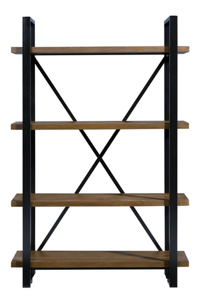 Progressive Furniture Berkley Hall Tan Black Bookcase PRG-A298-20
