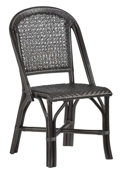 2 Progressive Furniture Louie Black Accent Side Chairs PRG-A400-41B