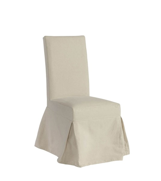 Progressive Furniture Charlotte Off White Slipcover Dining Accent Chair PRG-A408-41C