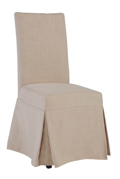 Progressive Furniture Charlotte Blush Fabric Dining Slipcover Chairs PRG-A408-41-DR-VAR