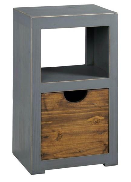 Progressive Furniture Miguel Storage Displays PRG-A512-29-BK-VAR