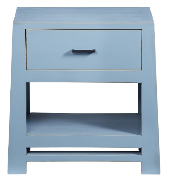 Progressive Furniture Carolina Blue Nightstand PRG-A712-69