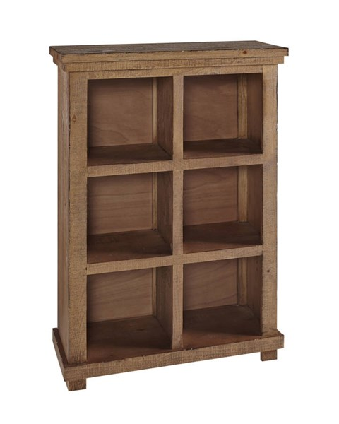 Willow Casual Pine Wood Shelves Bookcase PRG-A728-48P