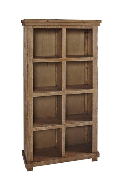 Willow Casual Pine White Wood Shelves Bookcases PRG-A728-64-VAR