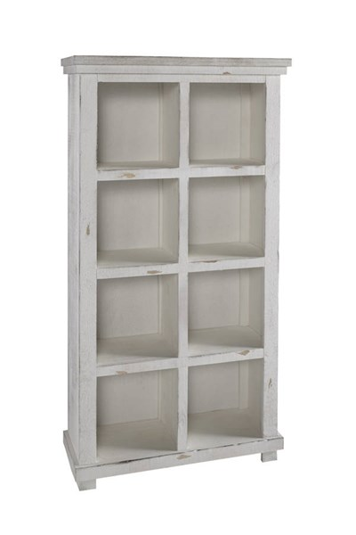 Willow Casual White Pine Wood Bookcase PRG-A728-64W