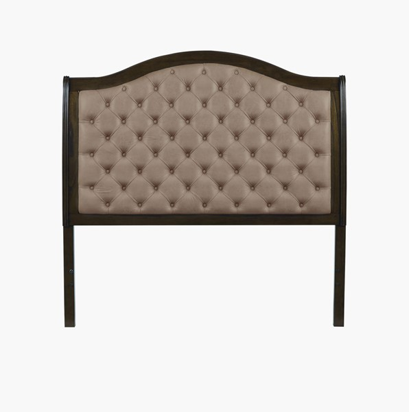 Progressive Furniture Pearson Brown Queen Upholstered Headboard PRG-B122-34