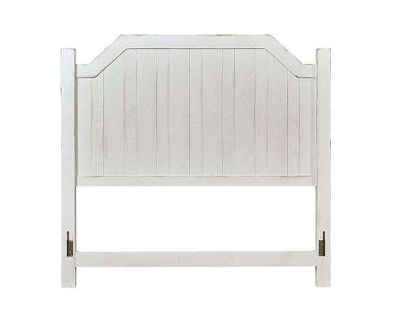 Progressive Furniture Elmhurst Traditional White King Post Headboard PRG-B617-94