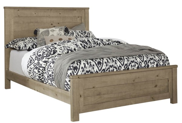 Progressive Furniture Wheaton Natural King Panel Bed PRG-B623-94-95-78