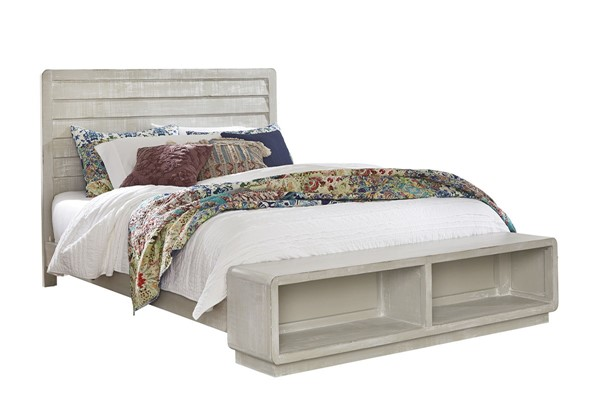 Progressive Furniture Bliss Gray Queen Bed PRG-B641-34-37-78