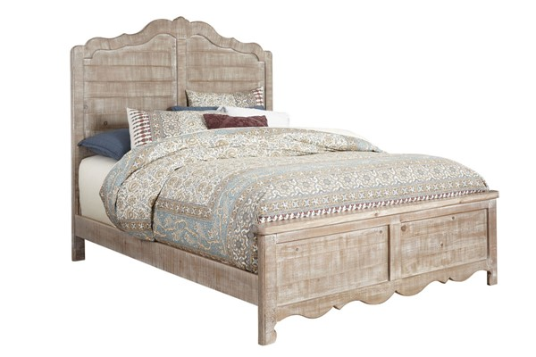 Progressive Furniture Chatsworth Chalk King Panel Bed PRG-B643-94-95-78