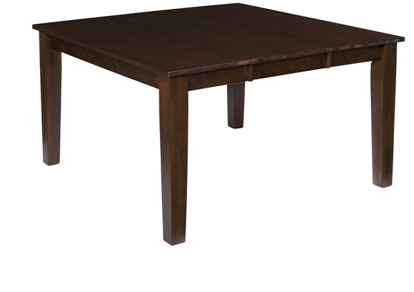 Progressive Furniture Kinston Espresso Dining Table PRG-D814-10B-10T