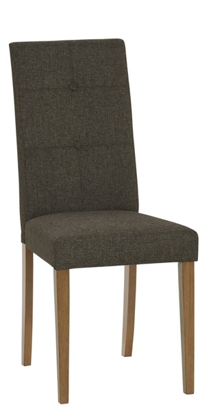 2 Progressive Furniture Arcade Brown Tufted Dining Chairs PRG-D829-62