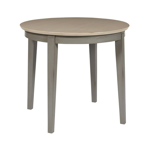 Progressive Furniture Toronto Gray Round Dining Table PRG-D837-13