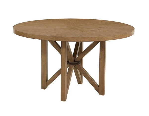 Progressive Furniture Serenity Tan Wooden Dining Table PRG-D855-10
