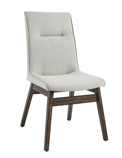 2 Progressive Furniture Mimosa Brown Upholstered Dining Chairs PRG-D862-61