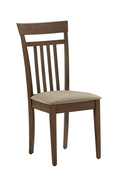 2 Progressive Furniture Palmer Brown Dining Chairs PRG-D868-61