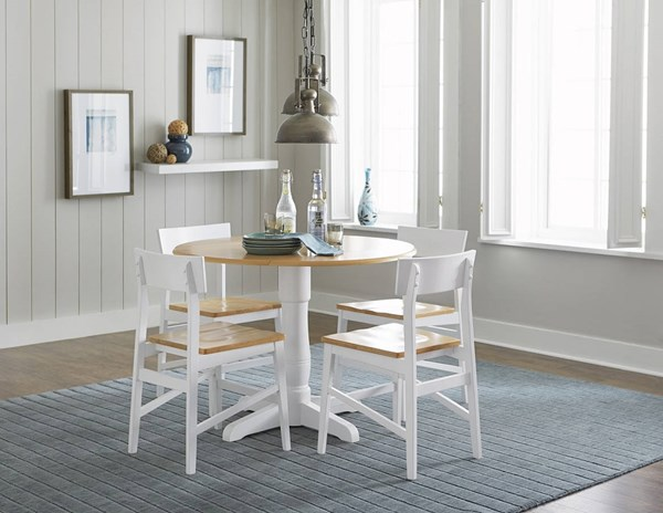 Progressive Furniture Christy Round Dining Table PRG-D878-13B-13T