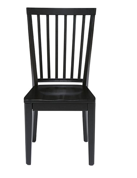 2 Progressive Furniture Lancaster Smoke Black Dining Chairs PRG-D883-61