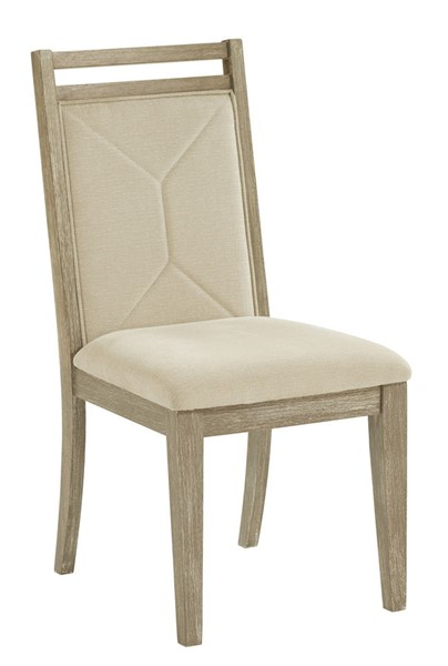 2 Progressive Furniture Beck Tan Upholstered Dining Chairs PRG-D887-61