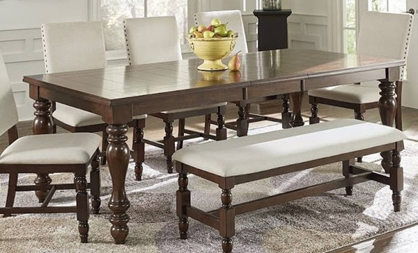 Progressive Furniture Sanctuary Cherry Dining Table PRG-D890-11