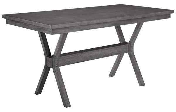 Progressive Furniture Trusses Graystone Counter Table PRG-D898-12