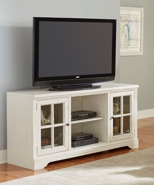 Progressive Furniture Charleston White 66 Inch Console PRG-E707-66
