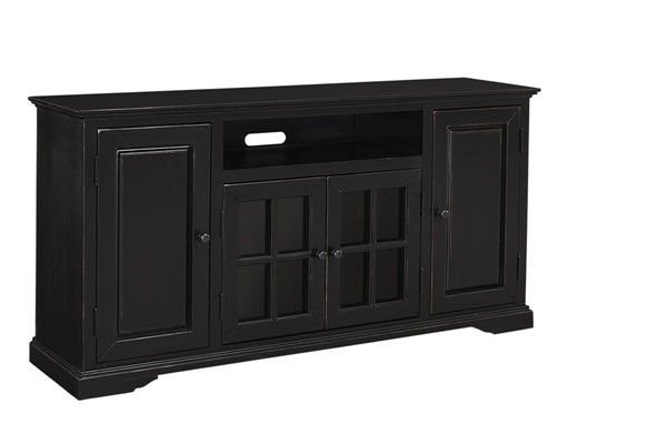 Progressive Furniture Hamilton Black 64 Inch Console PRG-E719-64