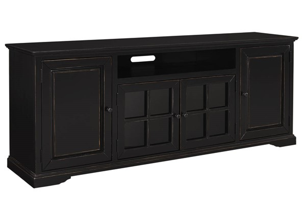 Progressive Furniture Hamilton Black 82 Inch Console PRG-E719-82