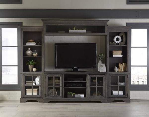 Progressive Furniture Dillworth Storm Entertainment Center with TV Stand PRG-E727-20-22-66-90