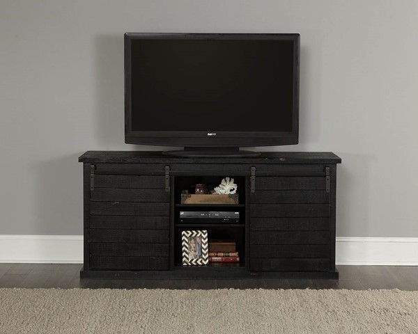 Progressive Furniture Huntington Black 64 Inch Console PRG-E762-64K