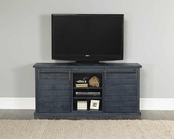 Progressive Furniture Huntington Blue 64 Inch Console PRG-E762-64N