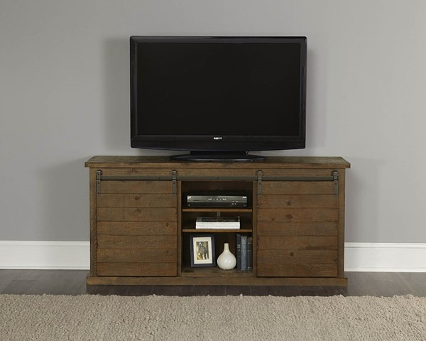 Progressive Furniture Huntington Tan 64 Inch Console PRG-E762-64P