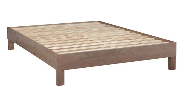 Progressive Furniture Jakob Weathered Oak Queen Platform Bed PRG-I102-39
