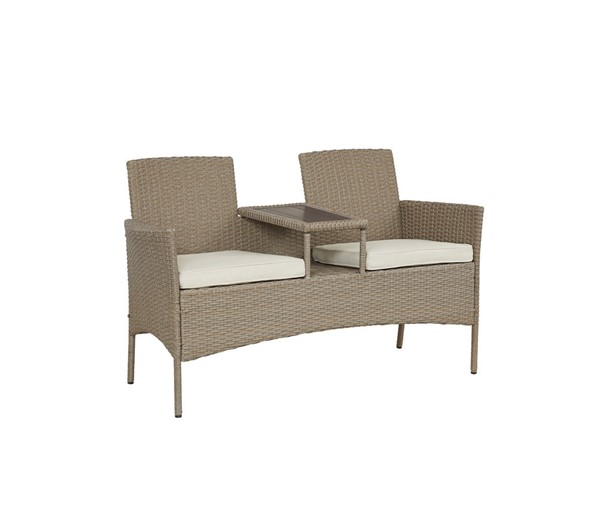 Progressive Furniture Tiki Tan Loveseat PRG-I722-LS