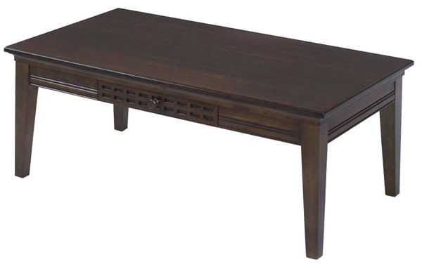 Progressive Furniture Casual Traditions Walnut Cocktail Table PRG-P107T-01