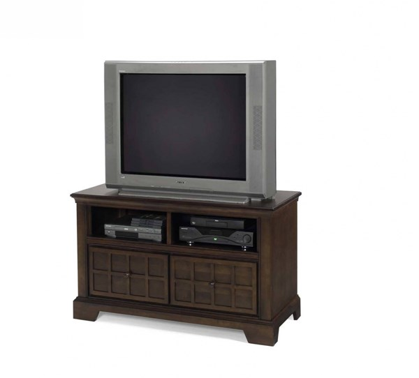 Casual Traditions Traditional Walnut Wood Media/TV Chest PRG-P107-48