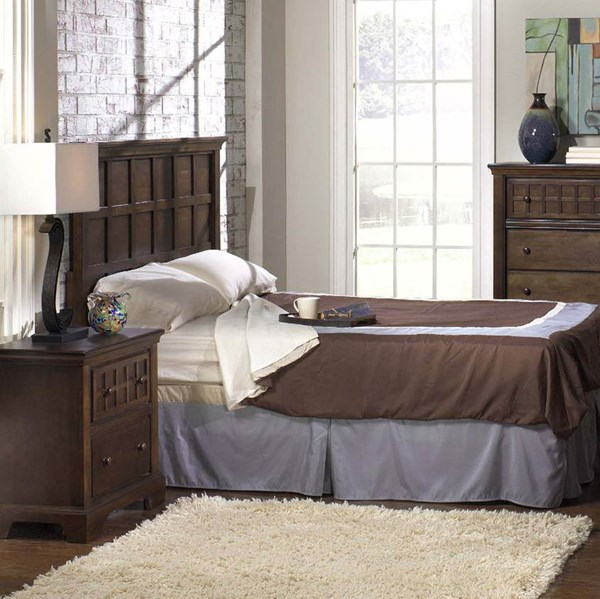 Casual Traditions Traditional Walnut Wood Beds PRG-P107-BEDS