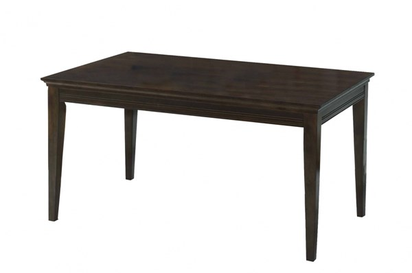 Progressive Furniture Casual Traditions Walnut Rectangle Dining Table PRG-P107D-10