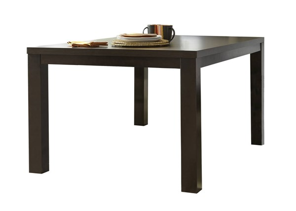 Progressive Furniture Athena Brown Rectangular Dining Table PRG-P109D-10