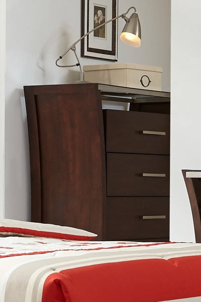 Avalon Contemporary Sable Rubberwood MDF Chest PRG-P184-14