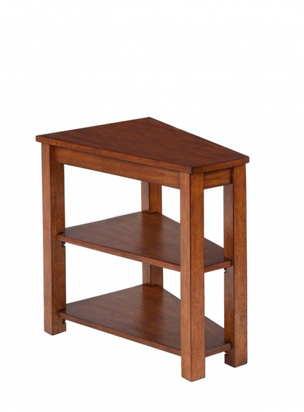 Chairsides Birch Solid Wood MDF Shelves Rectangle Chairside Table PRG-P300-61