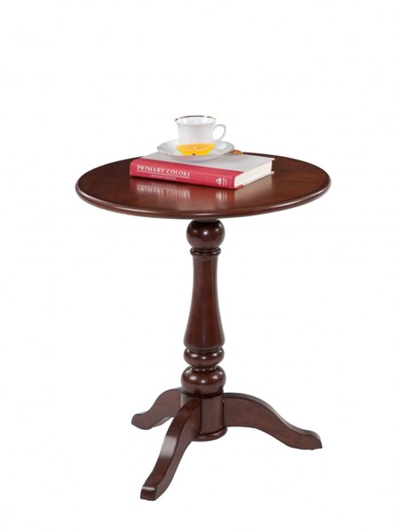 Chairsides Transitional Birch Solid Wood MDF Round Chairside Table PRG-P300-66
