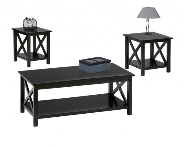 Progressive Furniture Seascape II Black 3 In 1 Pack PRG-P309-95