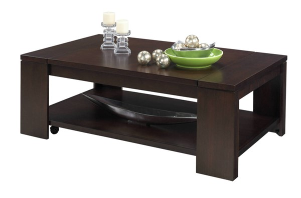 Progressive Furniture Waverly Castered Lift Top Cocktail Table PRG-P368-15