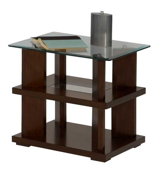 Progressive Furniture Delfino Rectangle End Table PRG-P404-04