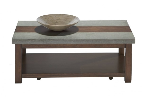 Progressive Furniture Cascade Rectangle Cocktail Table PRG-P426-01