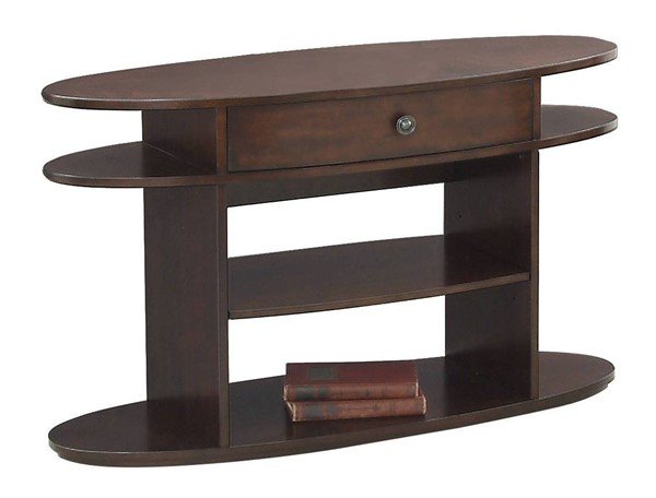 Progressive Furniture Metropolian Brown Sofa Console Table PRG-P474-05