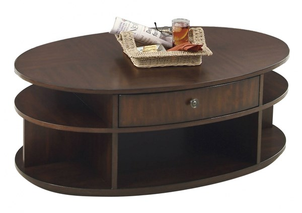 Progressive Furniture Metropolian Oval Lift Top Cocktail Table PRG-P474-15