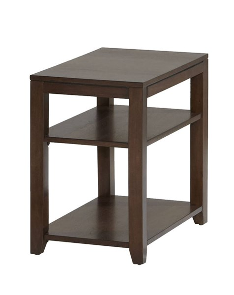 Progressive Furniture Daytona Regal Walnut Chairside Table PRG-P531-29